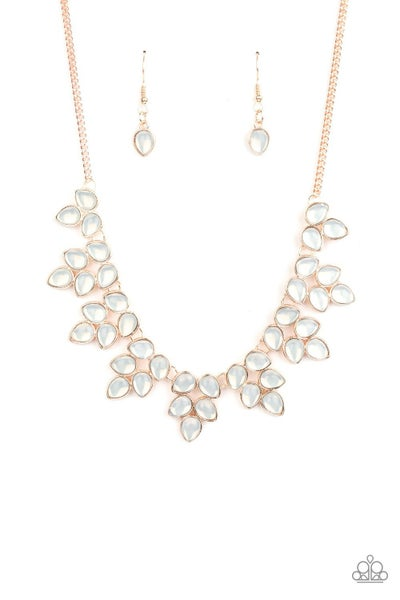 Hidden Eden Rose Gold Necklace
