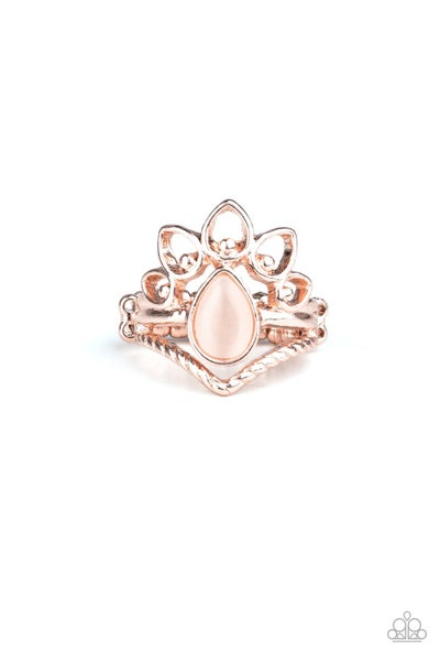 Serene Scene Rose Gold Ring