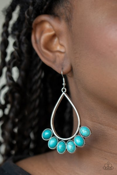 Stone Sky Turquoise Earrings