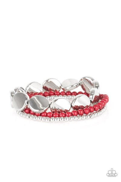Beyond The Basics Red Bracelet
