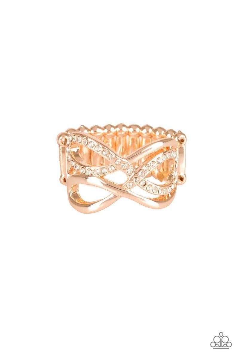 Infinite Illumination Rose Gold Ring