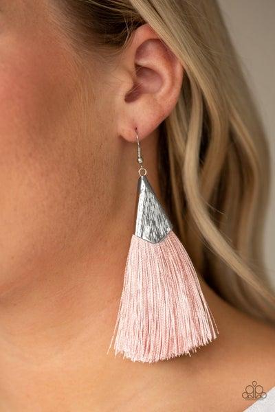 In Full PLUME Pink Earrings