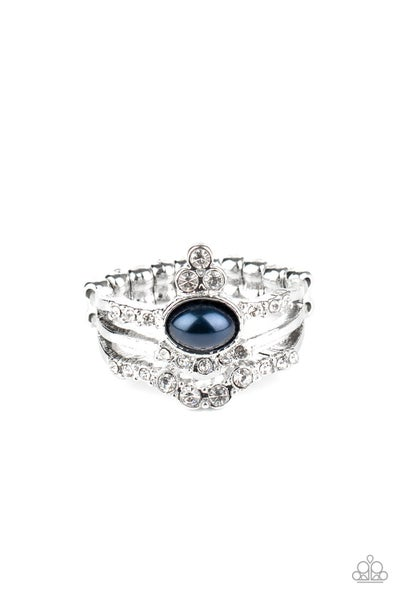 Timeless Tiaras Blue Ring