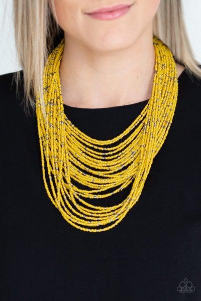 Rio Rainforest Yellow Necklace