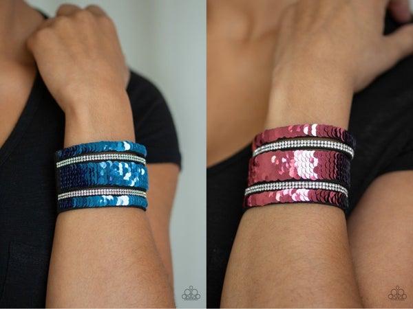 MERMAID Service Pink Blue Bracelet