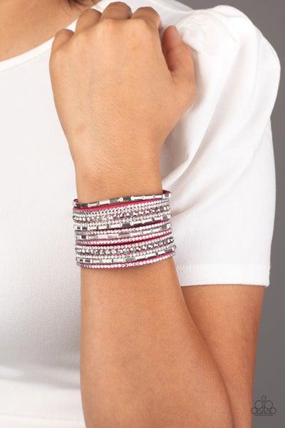 Wham Bam Glam Pink Bracelet