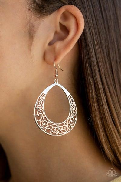 Vineyard Venture Rose Gold Earrings