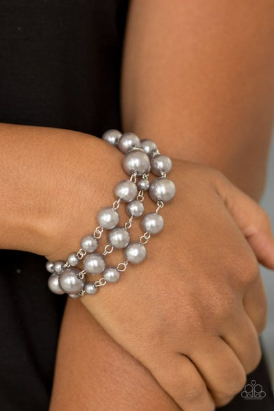 Until The End of Timeless Silver Bracelet