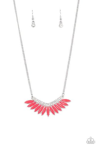 Extra Extravaganza Pink Necklace