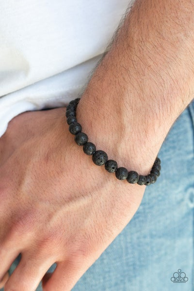 Focused Black Bracelet