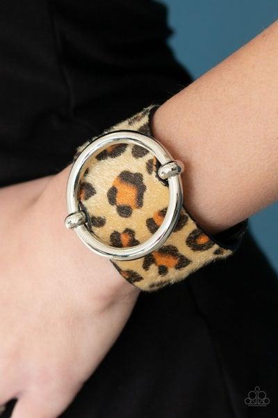 Asking Fur Trouble Brown Bracelet