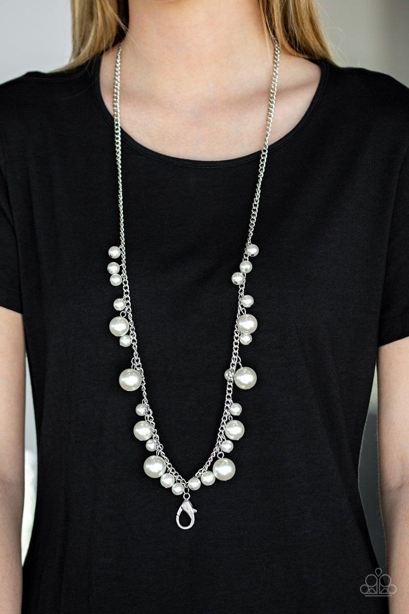 Perfect In Pearls Pearl Lanyard