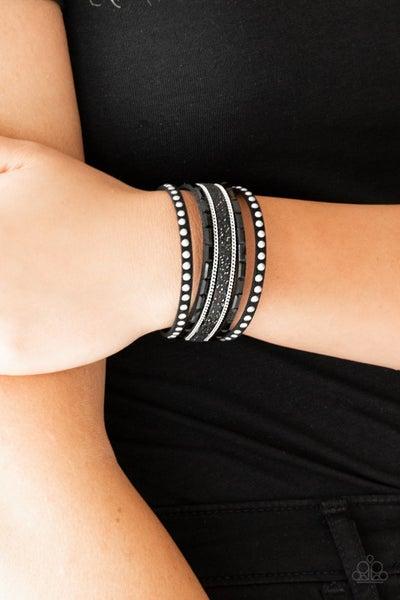 Seize The Sass Black Bracelet