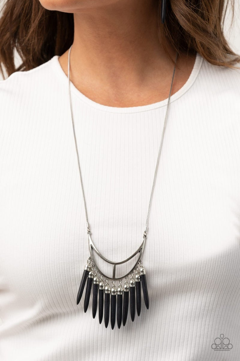 Stone Age A-Lister Black Necklace