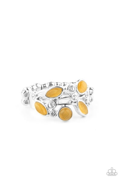 Leafy Luster Yellow Ring