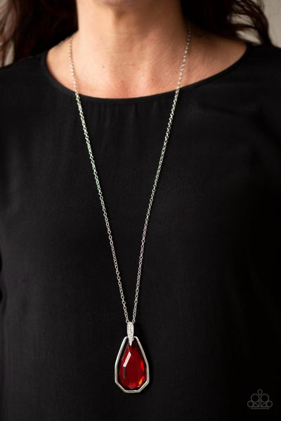 Maven Magic Red Necklace