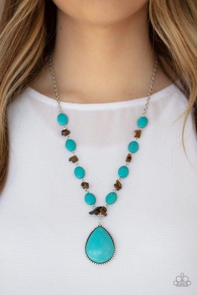 Desert Diva Turquoise Necklace