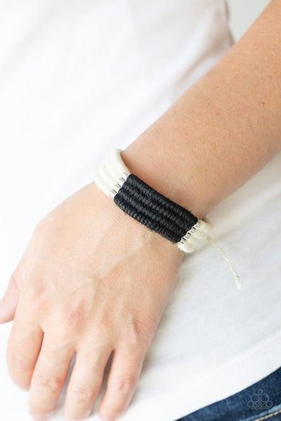Hot Cross Bungee Black Bracelet