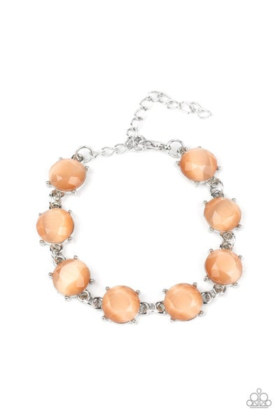 Ms. Glow It All Orange Bracelet