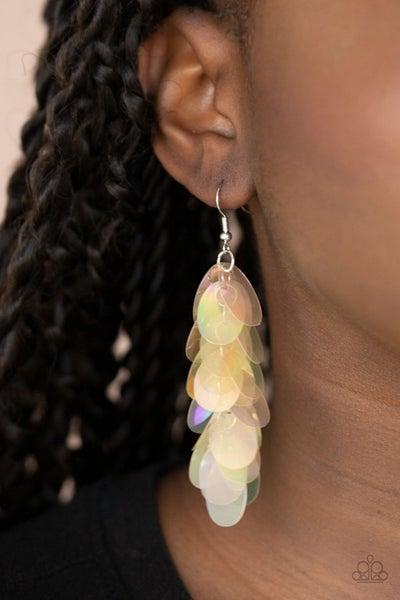 Stellar In Sequins Multi Earrings