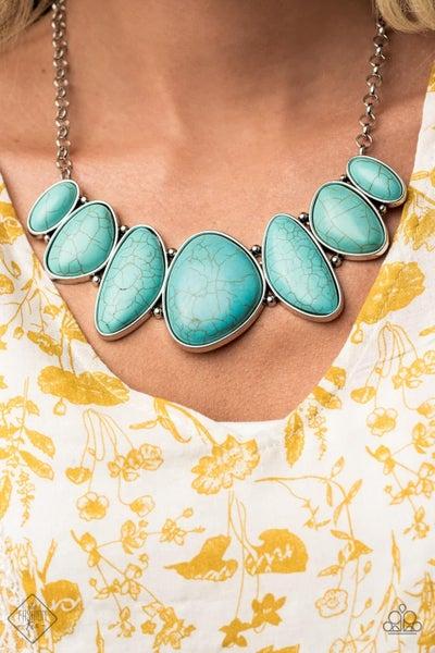 Primitive Turquoise Necklace