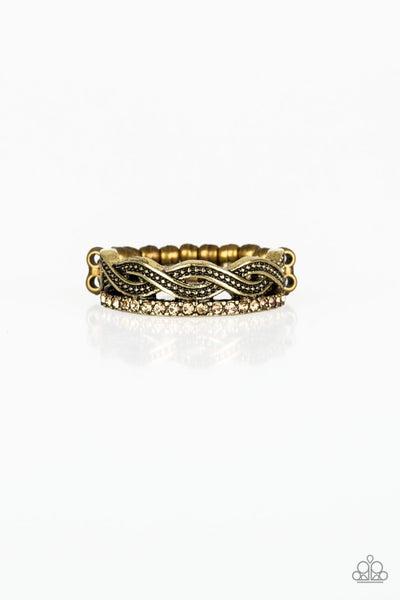 Unstoppable Shine Brass Ring