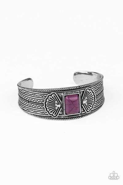 Ocean Mist Purple Bracelet
