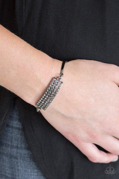 Top-Class Class Gunmetal Bracelet