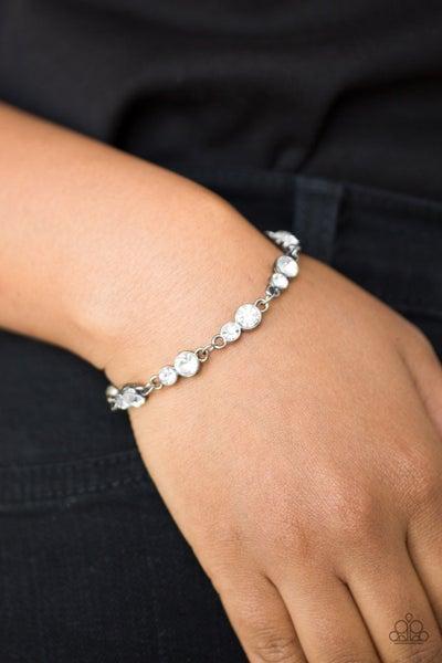 Twinkle Twinkle Little Starlet Gunmetal Bracelet