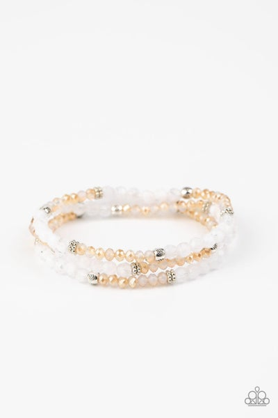 How Does Your Garden Glow White Gold Bracelet