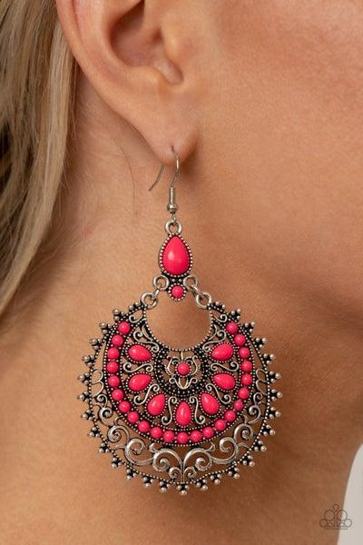 Laguna Leisure Pink Earrings