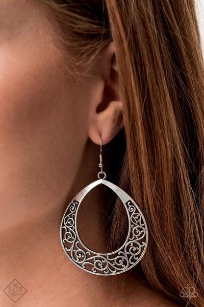 Vineyard Venture Silver Earrings