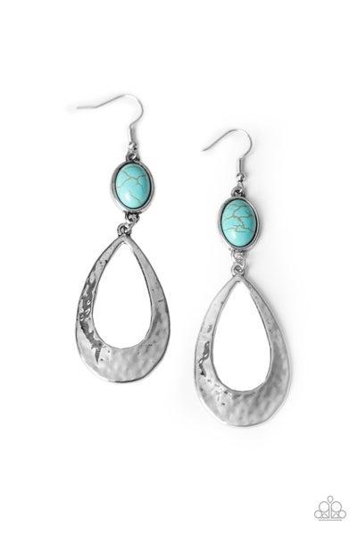 Badlands Baby Turquoise Earrings