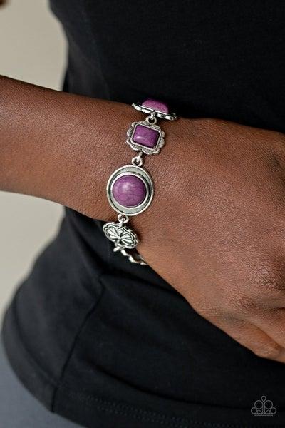 Gorgeously Groundskeeper Purple Bracelet