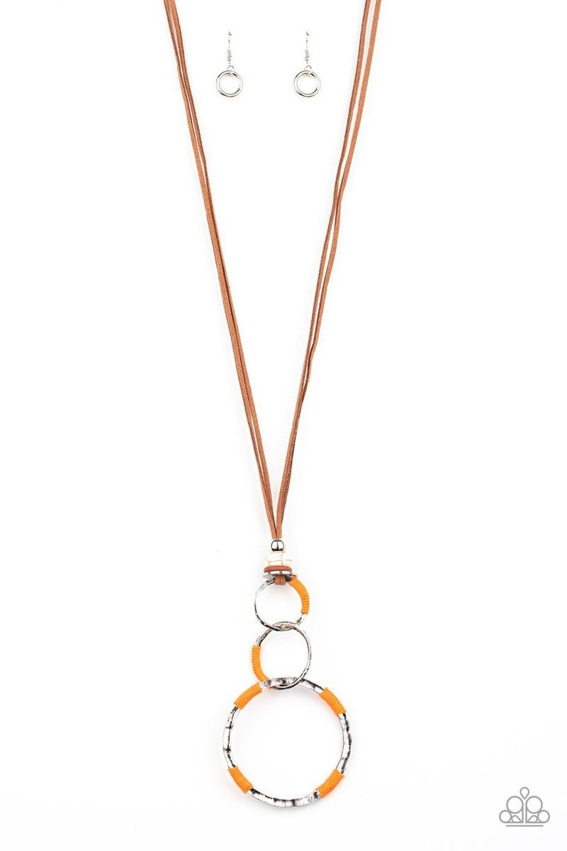 Rural Renovation Orange Necklace