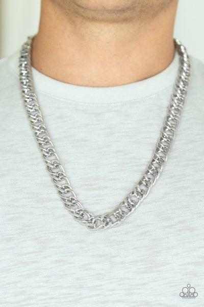 Omega Silver Urban Necklace