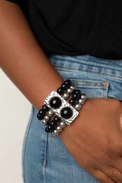 WEALTH-Conscious Black Bracelet