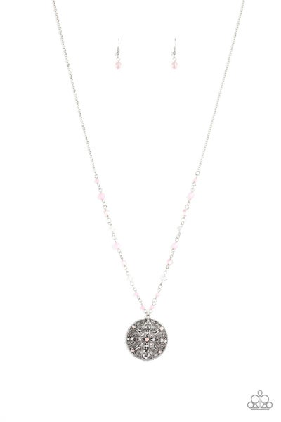 Everyday Enchantment Pink Necklace