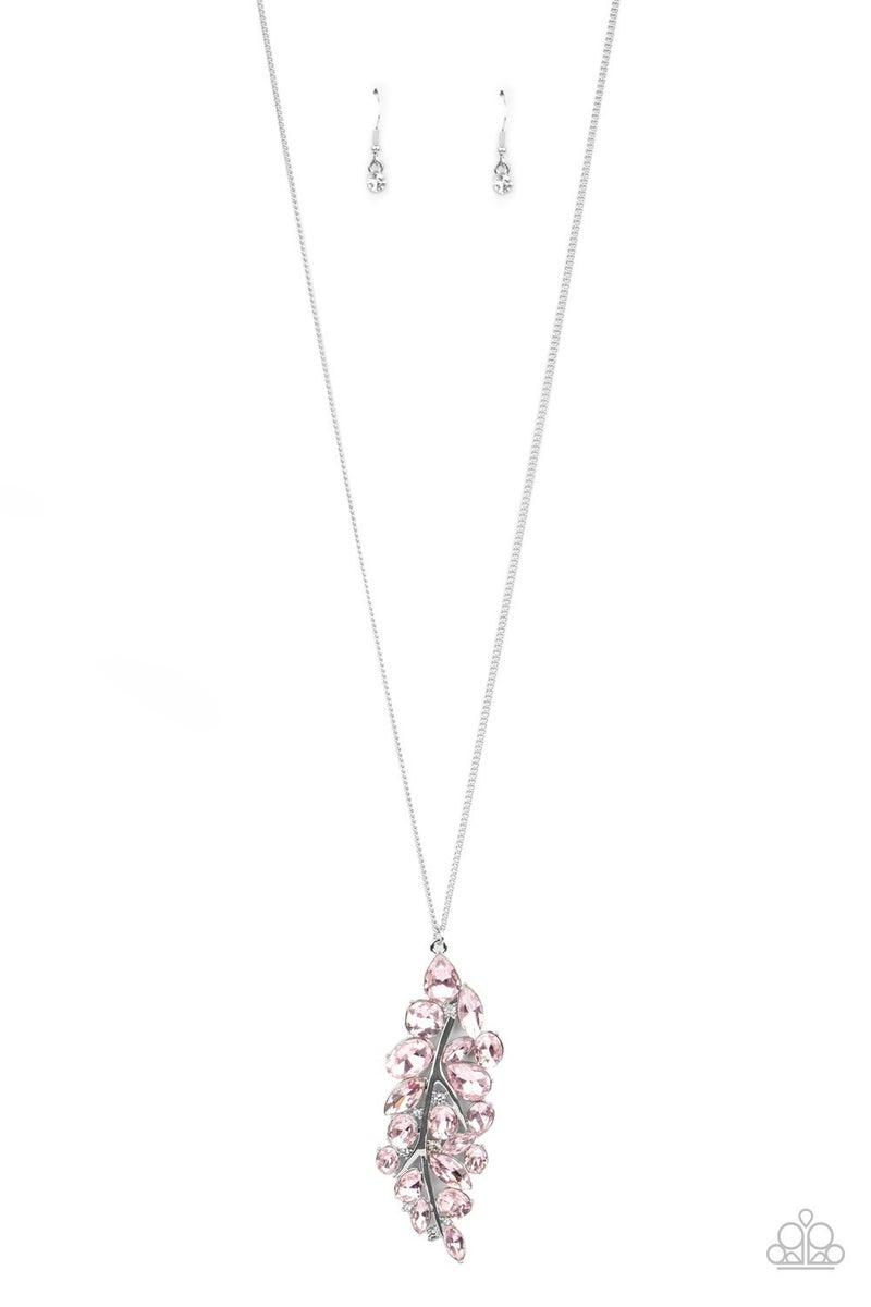 Take A Final BOUGH Pink Necklace