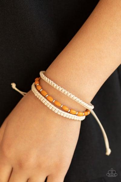 Refreshingly Rural Orange Urban Bracelet
