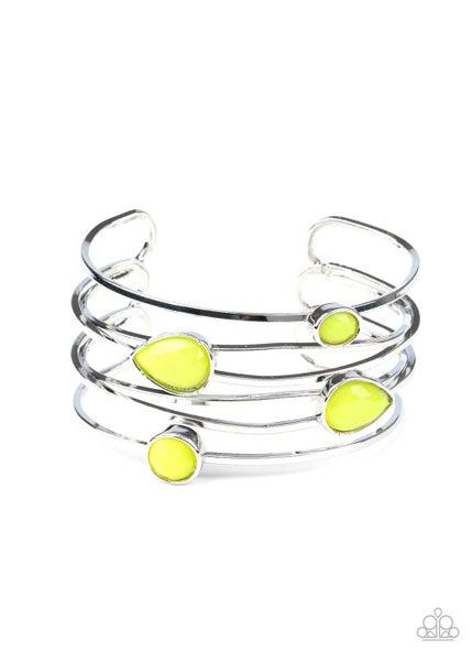 Fashion Frenzy Yellow Bracelet