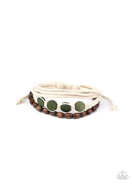 Dream Beach House Green Urban Bracelet