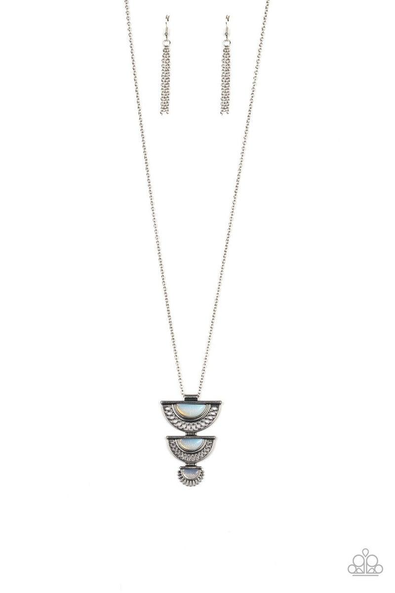 Serene Sheen White Necklace