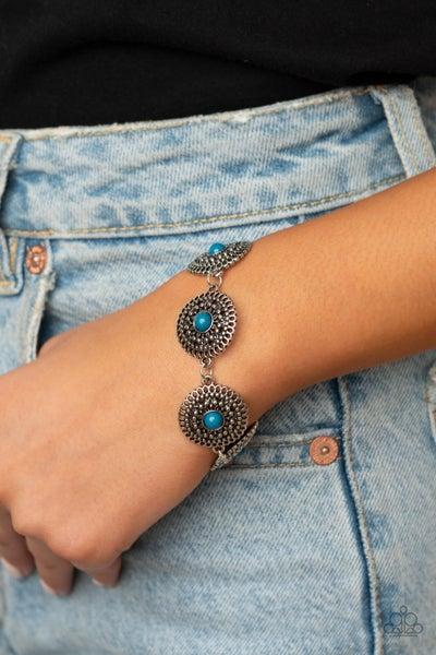 Mojave Mandalas Blue Bracelets