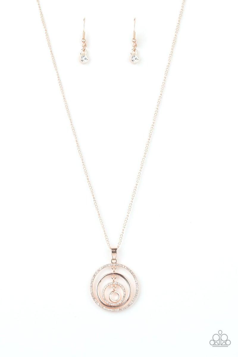Upper East Side Rose Gold Necklace