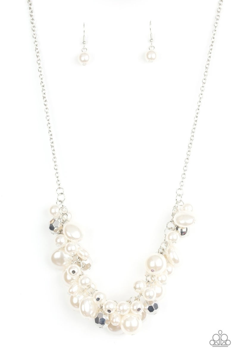 Battle of the Bombshells Pearl Necklace