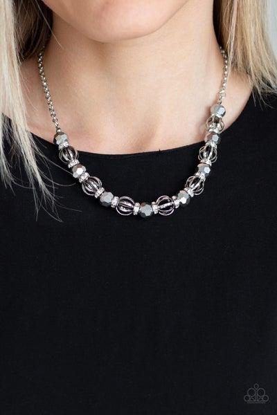 Metro Majestic Silver Necklace