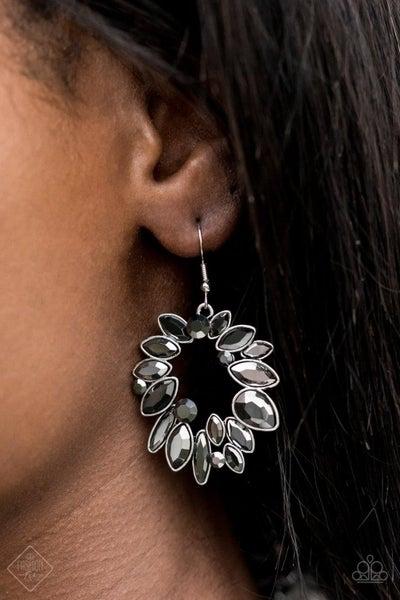 Try As I Dynamite Silver Earrings