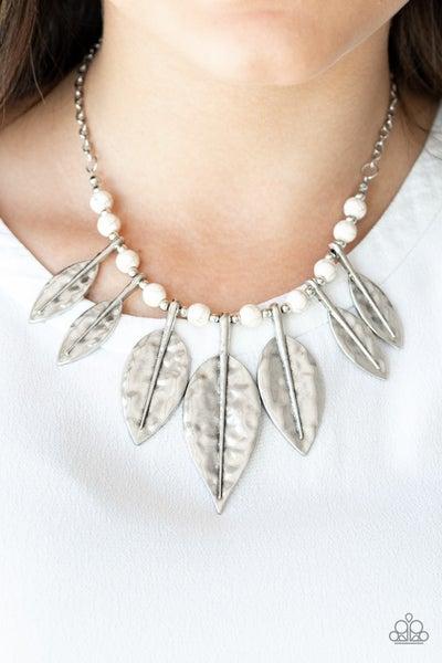 Highland Harvester White Necklace