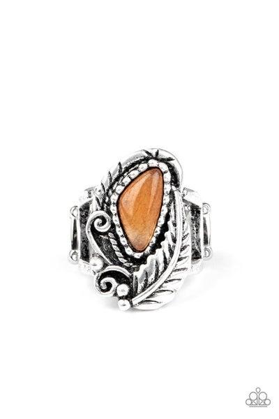Palm Princess Orange Ring